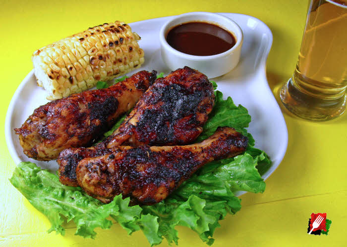 Balsamic BBQ with Chicken Legs