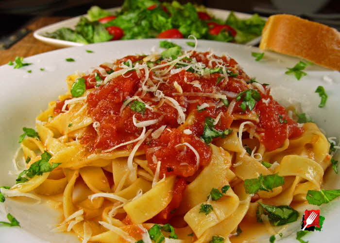 Pasta with Authentic Italian Marinara