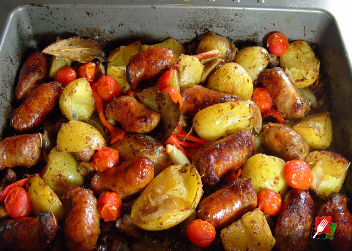 Italian Sausage & Potatoes