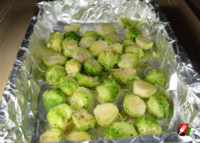 Grilling Brussels Sprouts
