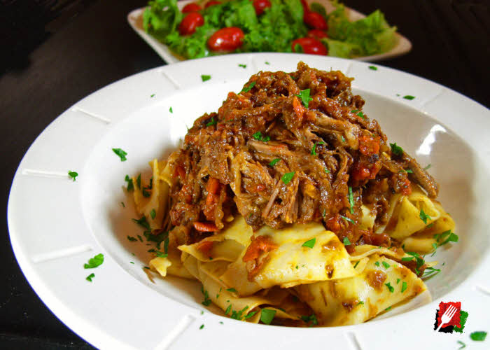 Authentic Pappardelle Stracotto