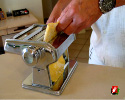 Drop into the pasta maker again