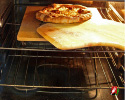 Immediately Remove Pizza with Wooden Peel When Finished