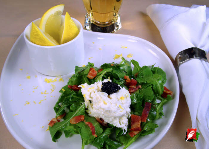 Arugula Salad with Burrata