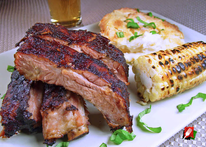 Italian Grilled Baby Back Ribs