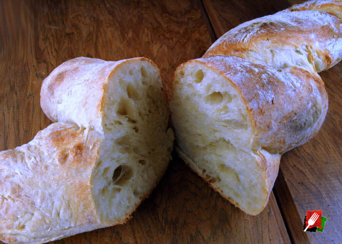 Twisted Rustic Bread
