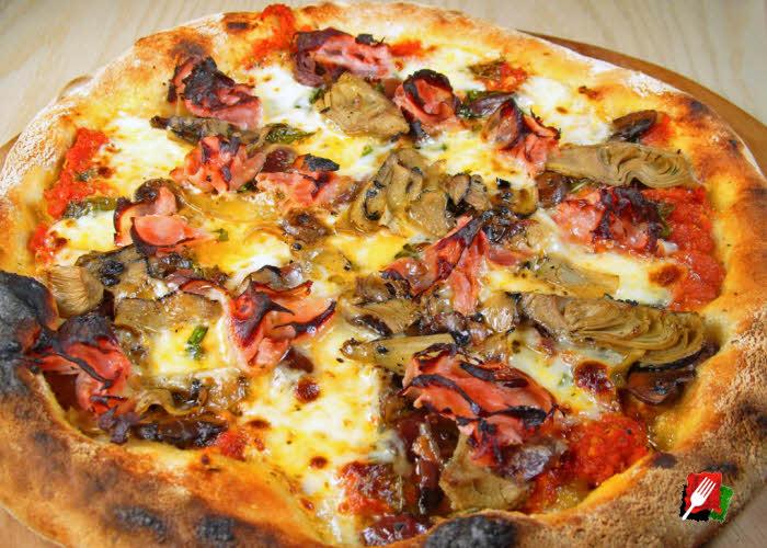 Oven Baked Capricciosa Pizza