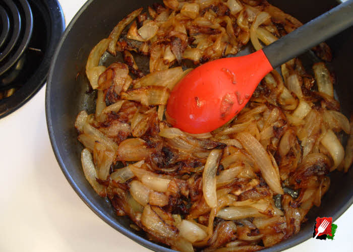 Caramelized onions done after 1 hour