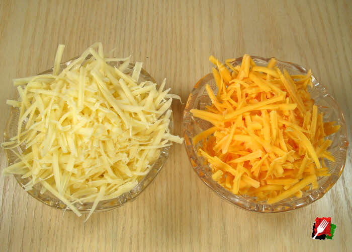 Gruyere and Cheddar Cheese