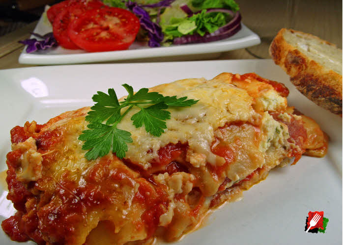 The Best Italian Lasagna