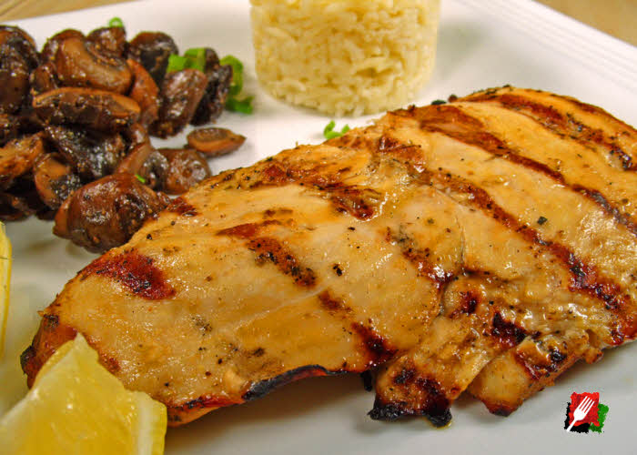 Gourmet Grilled Lemon Chicken