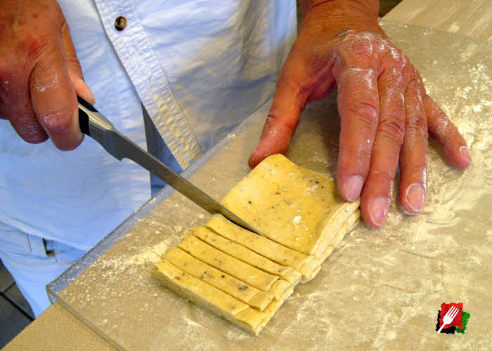 video on how to make pasta dough
