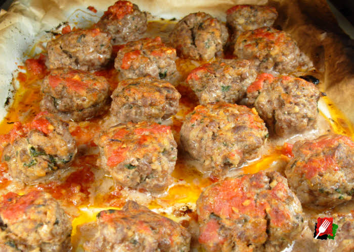 Gourmet Meatballs After Cooking