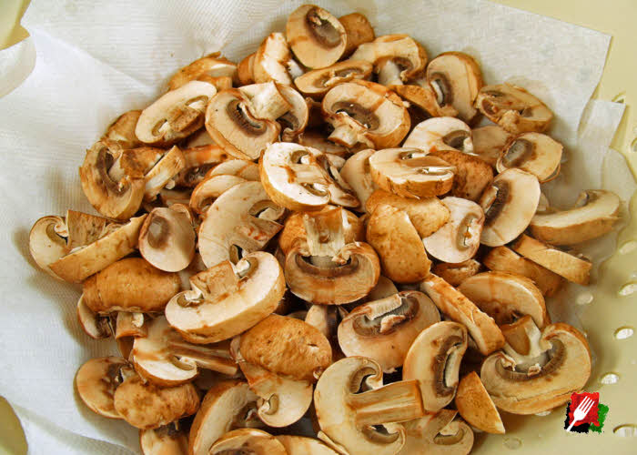 Sliced Baby Bella Mushrooms