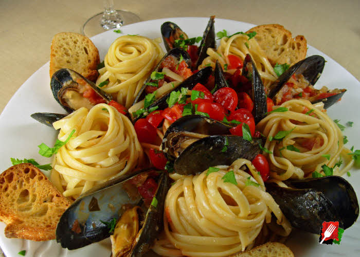 Mussels Linguine Recipe