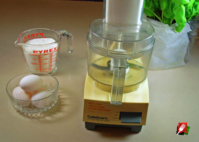 Make Fresh Pasta with a Food Processor