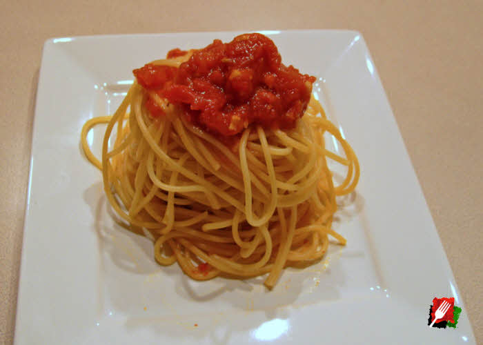 Small side of Spaghetti Marinara