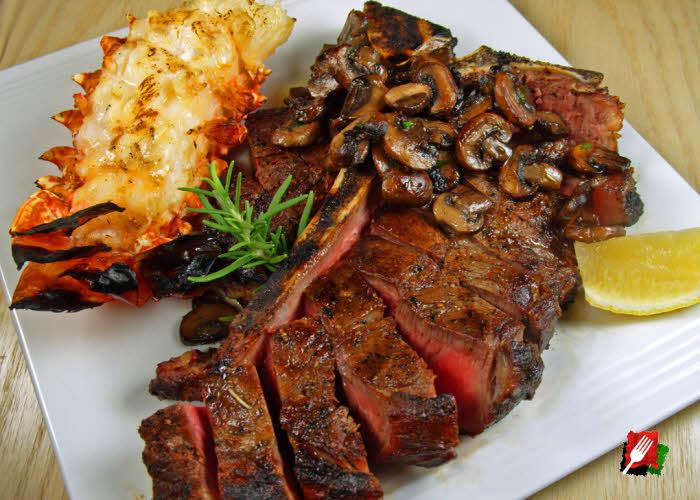 Porterhouse Steak & Lobster