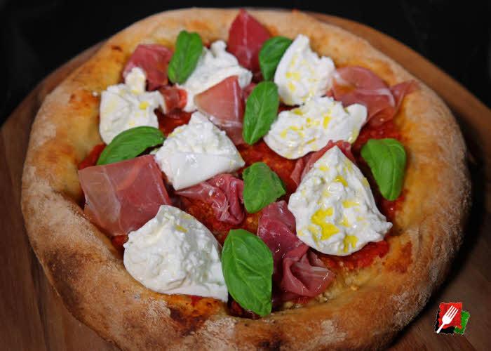 Prosciutto Burrata Pizza