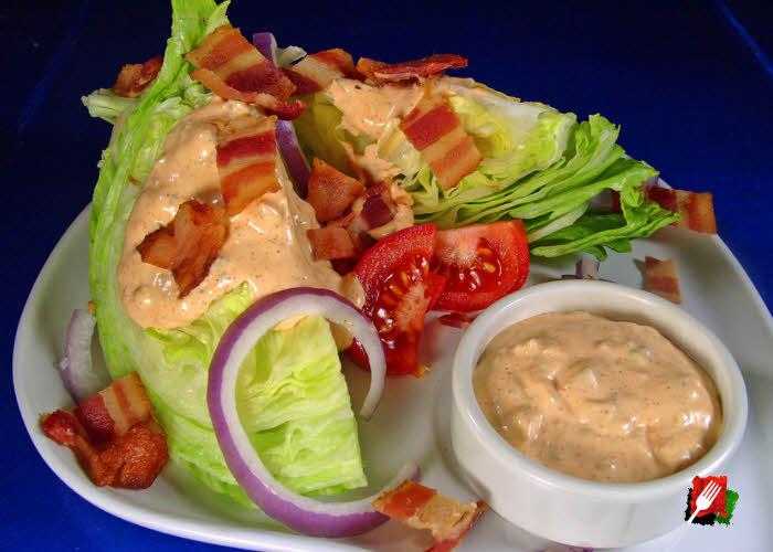 Russian Bacon Wedge Salad