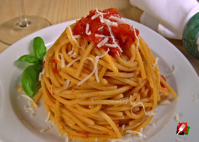 Spaghetti with Marinara