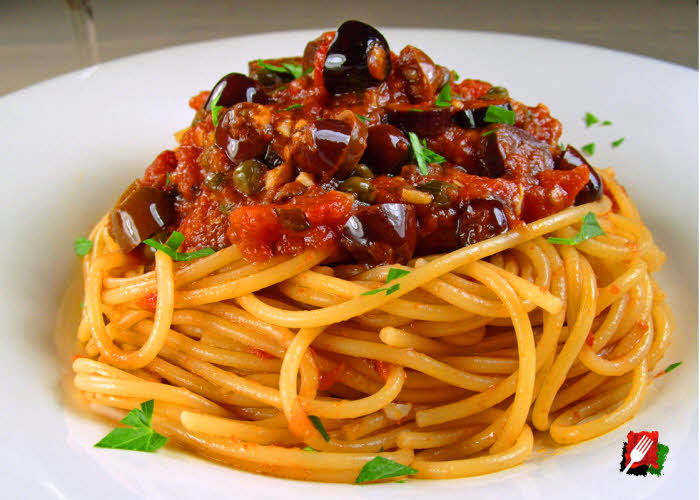 Spaghetti Puttanesca Recipe