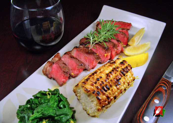 Grilled Steak Florentine