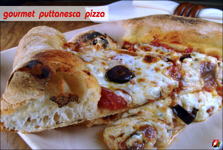 Puttanesca Pizza